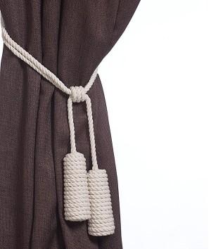 Конусы (натуральный, джутовый шнур)