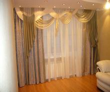 Модель штор с использованием ткани нашей коллекции